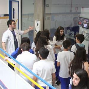 Tour pela Unidade II e aula de Física - 8ºs anos | EFII