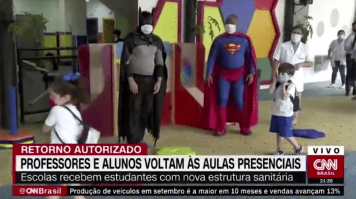 Reportagem CNN: Retorno das Atividades presenciais