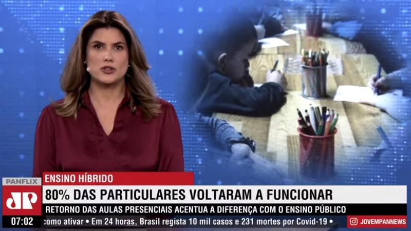 CASJ é destaque do Jornal da Manhã, na Jovem Pan News